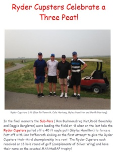 The Ryder Cupsters